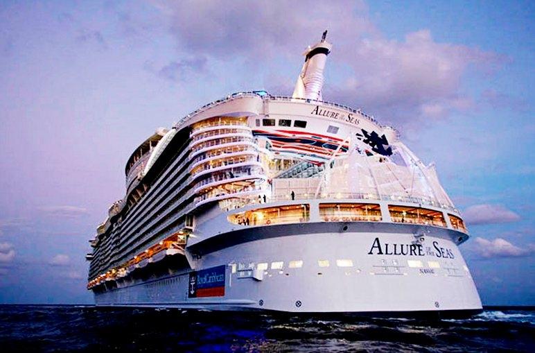 «Очарование морей» - самый лучший круизный лайнер.