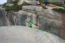 Знакомство с Норвегией. Язык Тролля и Кьераг горошина