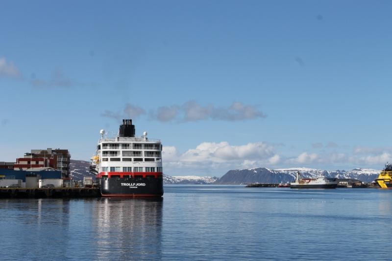 MS Trollfjord - самый лучший круизный лайнер