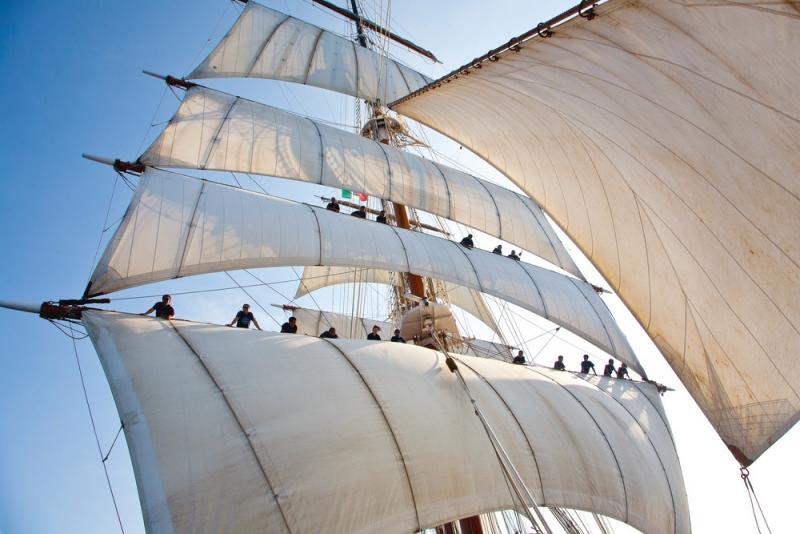 Парусник Sea Cloud - самый лучший круизный лайнер