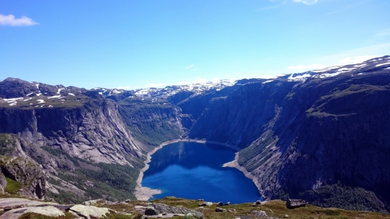 Норвегия в июле 2016 - соло на авто с палаткой