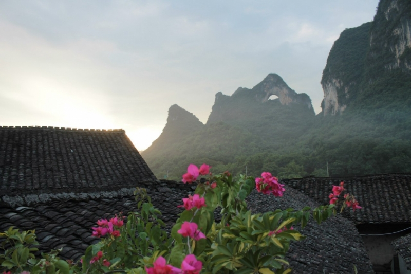 Август 2015. Пекин-Гуйлинь-Яншо-Фенхуань-Чжанцзяцзе-Хуашань-Сиань-Чжанье(Полосатые горы)