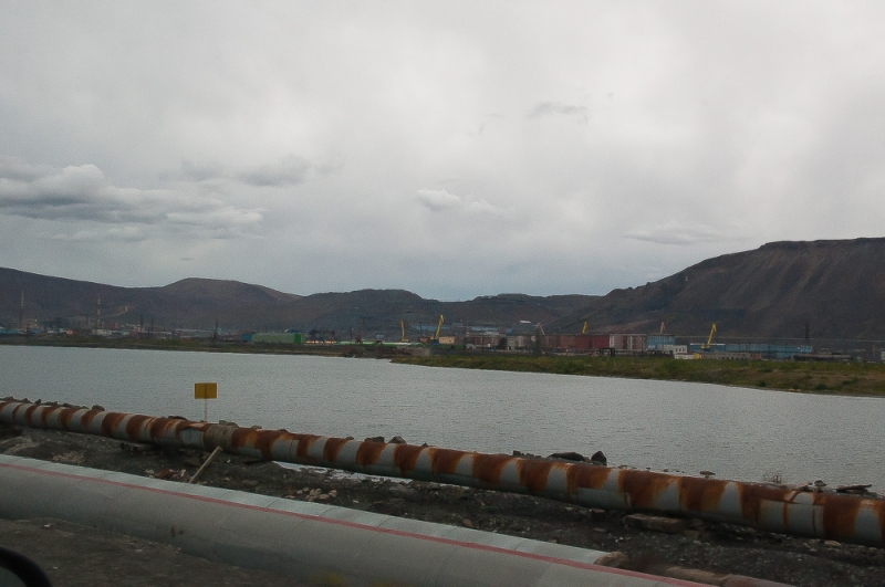 Летний отпуск в заполярье, поездка в Норильск и на озеро Лама