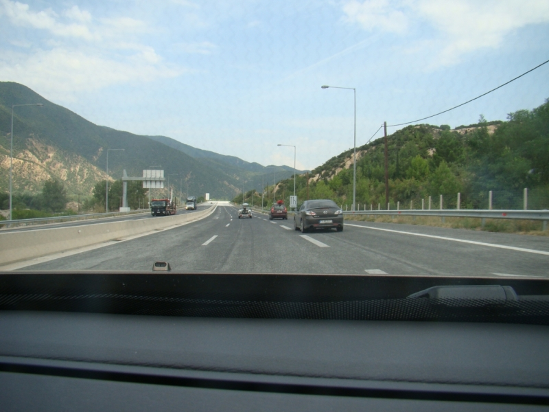 Путешествие как средство борьбы со страхами и комплексами (на авто в Грецию, авг-сен 2016)