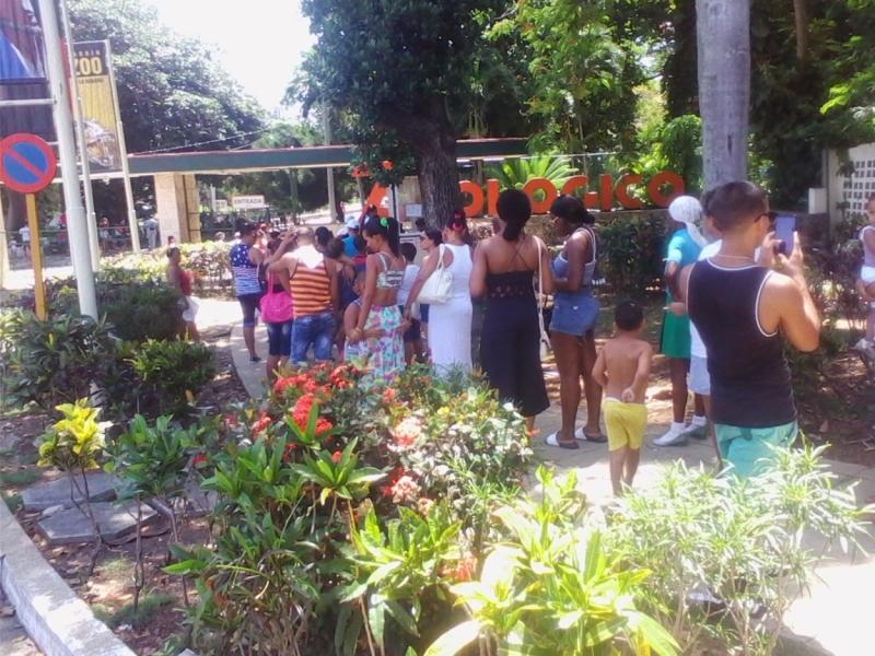 Национальный зоопарк под Гаваной