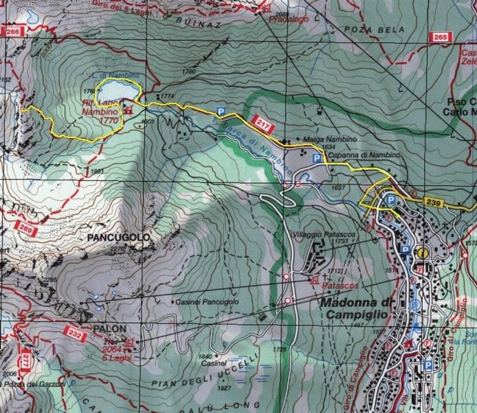 Доломитовые Альпы. Пешие прогулки по природному парку Адамелло-Брента