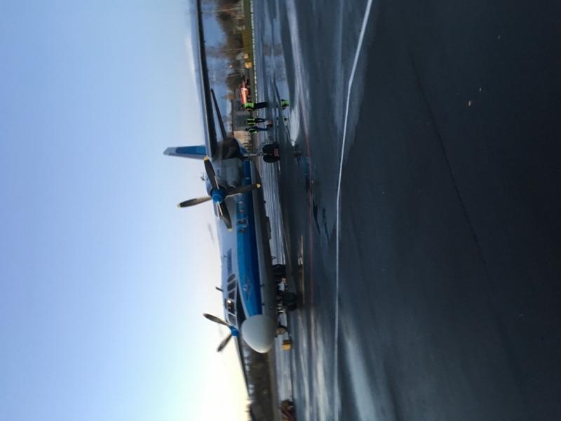 Псков, аэропорт Кресты (PKV)