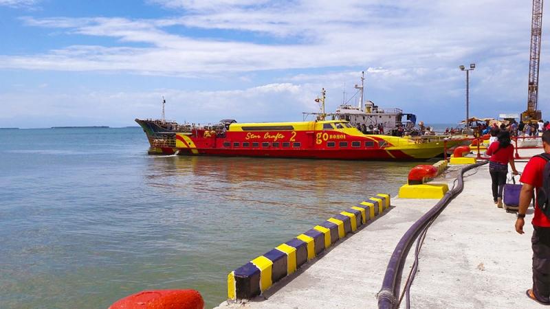 Паром Табигон (Tubigon) - Себу (Cebu). Информация с фото.