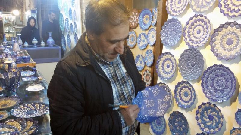 Как приготовить винегрет и выпить вина в Иране