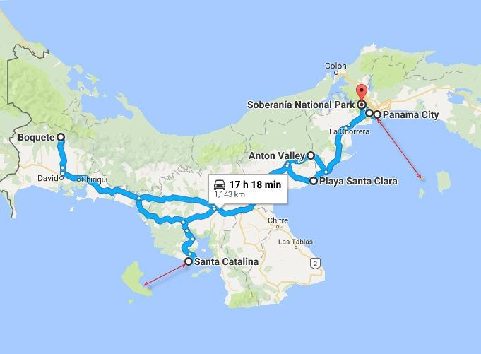 Бегство в Панаму от дурацкой зимы. Декабрь 2016.