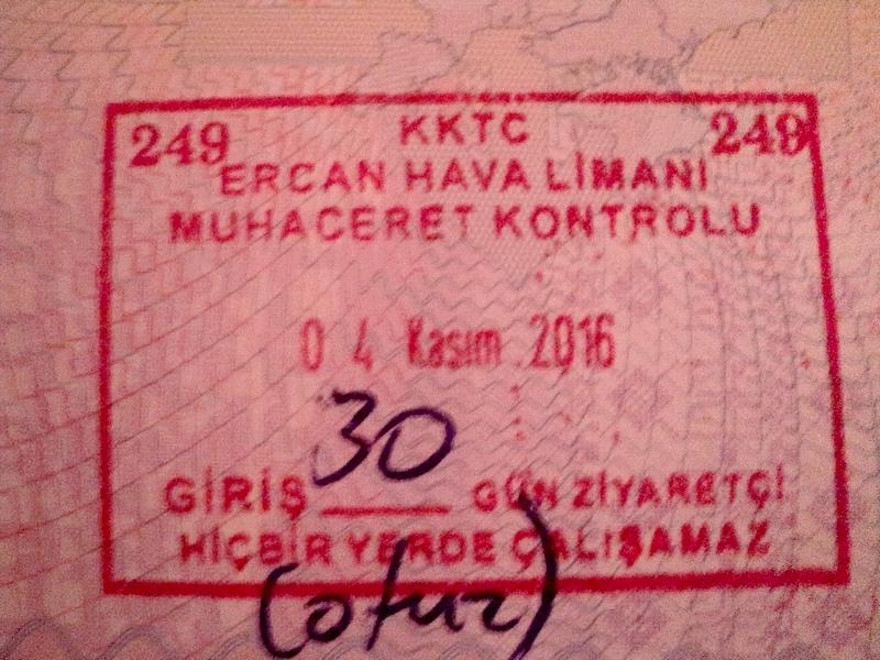 Северный Кипр - пересечение границ, визовые нюансы