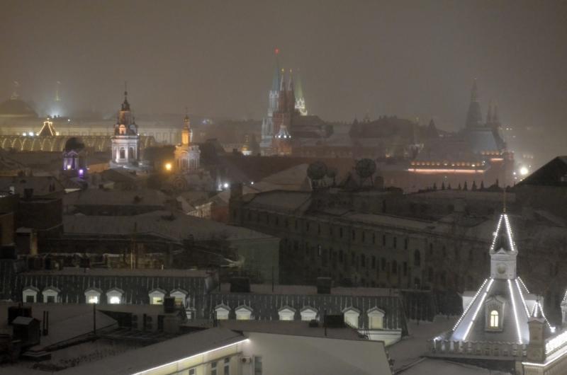 Московский променаж (январь 2017)
