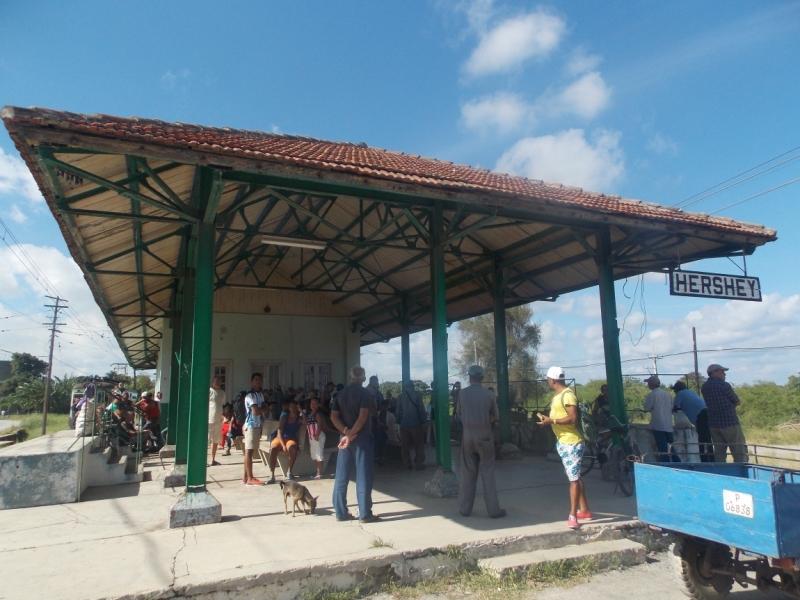 Поездом по Кубе