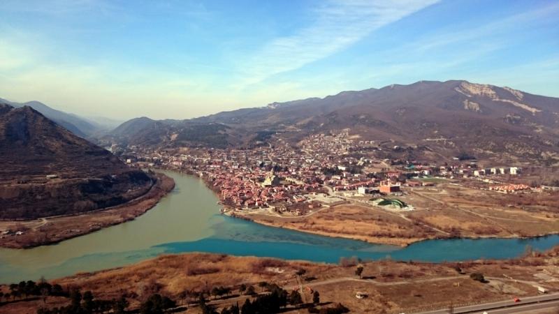 Грузия и Азербайджан в феврале 2017. Пешком в весну