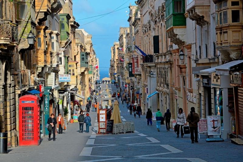 Мальта фото в январе