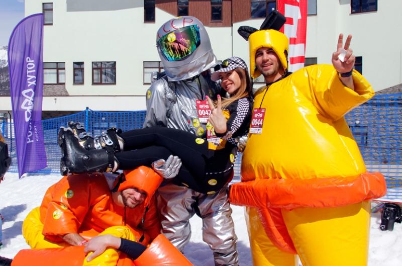 Высокогорный карнавал BoogelWoogel Бугель вугель в Сочи на Роза Хутор 2017