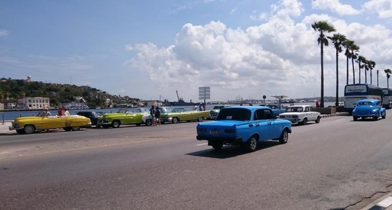 Марш-бросок на север (Флориды), Куба и Центральная Америка на Ошеании Марине, март 2017
