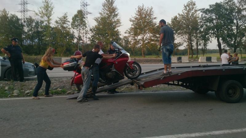В Грузию на мотоциклах в августе 2016 года