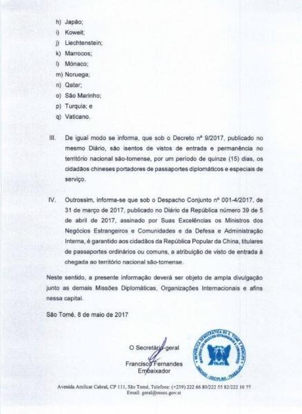 Онлайн-виза в São Tomé e Príncipe (Сан-Томе и Принсипи)