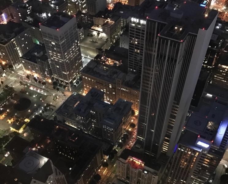 Большие города . Запад и Восток США