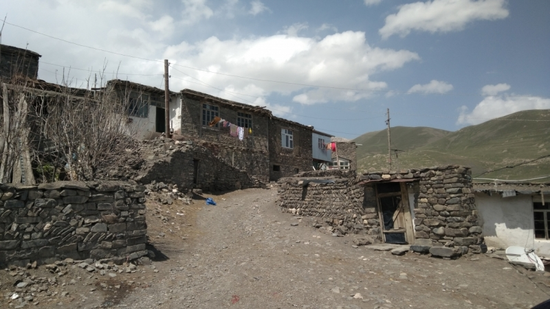Азербайджан, май 2017: Хыналыг
