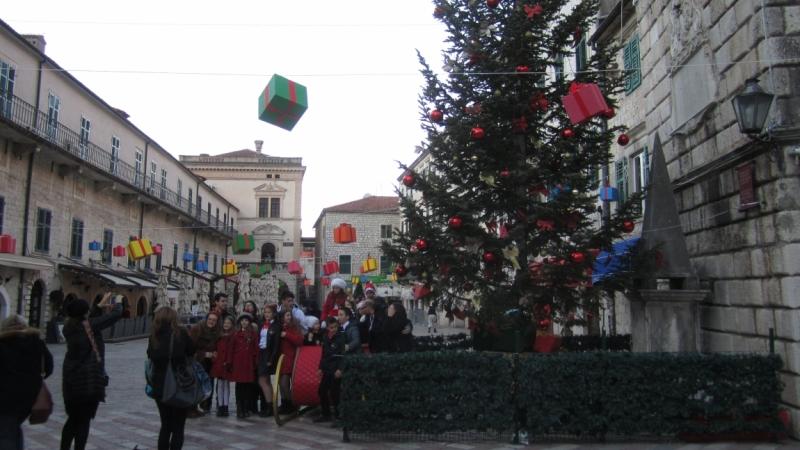 Новый Год в Хорватии, в частности, Дубровник.