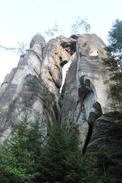 """Адршпашские скалы.Чехия. По следам """"польско чешского экспромта"""""""