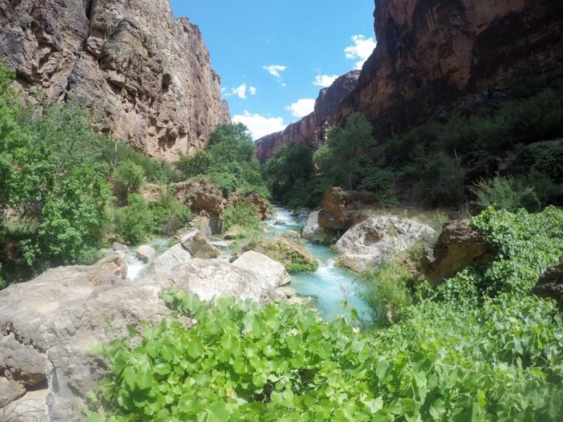 Водопады Хавасу (Havasu Falls) Аризона. Куда приводят мечты