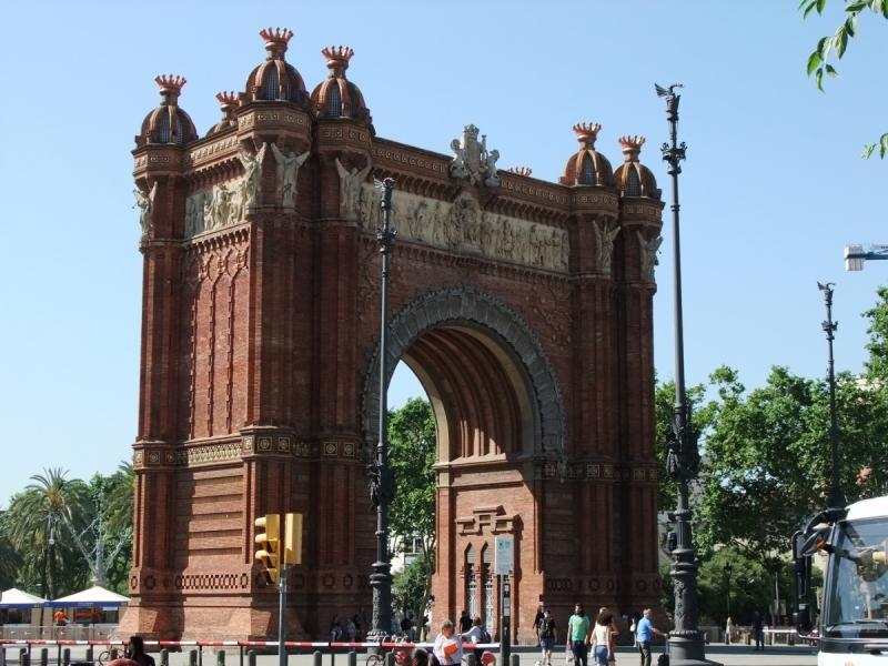 Майская Барселона пешком в одиночку.