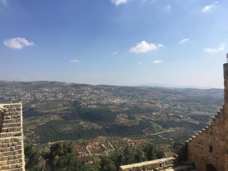 По обе стороны реки Иордан на пасху 2017: Иордания и Израиль