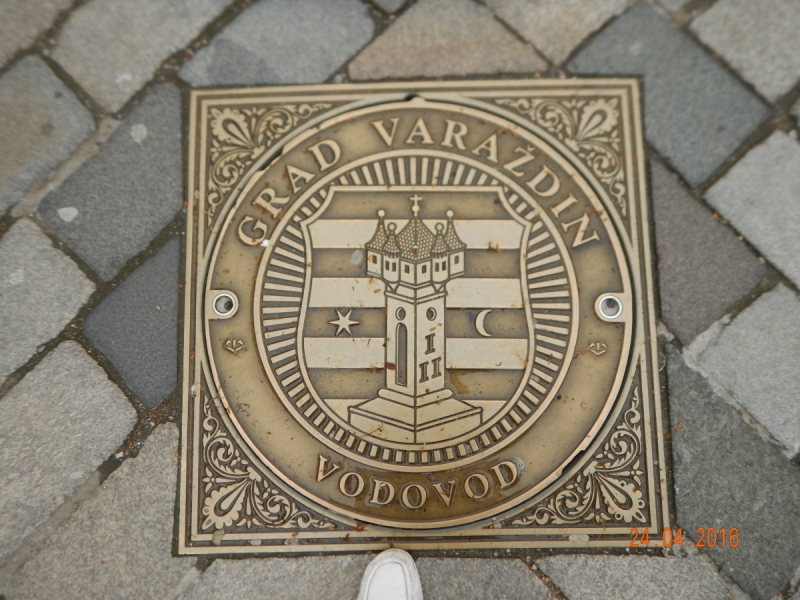 Вараждин (Varazdin) пешеходная прогулка по городу.