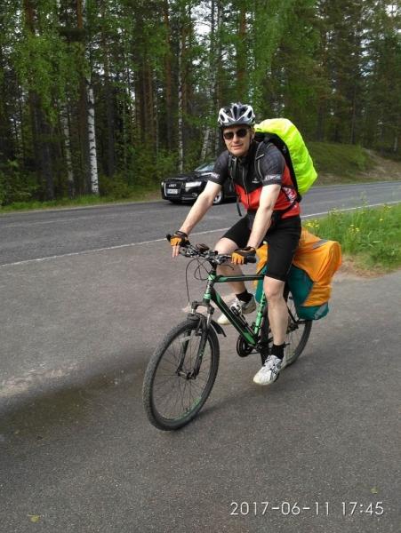 Иматра-Лаппеэнранта, прогулка на велосипедах