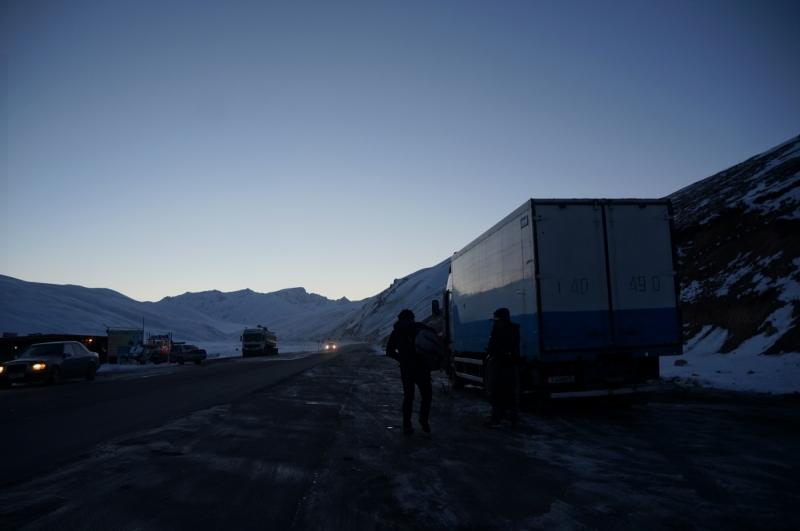 Киргизия: из Бишкека до Иркештама с дальнобойщиками, ноябрь 2016