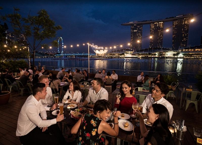 Новый Год 2018 Сингапур!