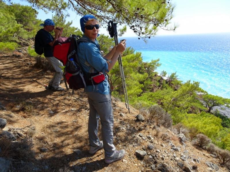 Горы Западного Крита, Лефка Ори октябрь 2016