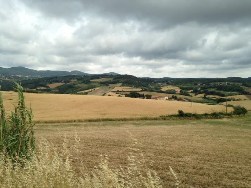 По Тоскане на велосипеде. Июль 2017