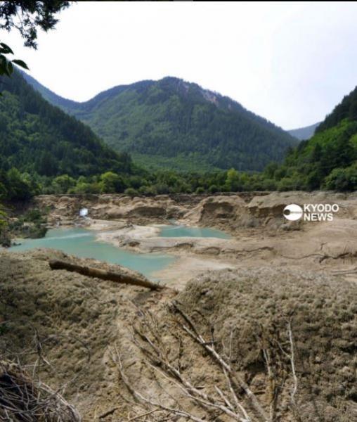 Землетрясение в Китае, парк Цзючжайгоу