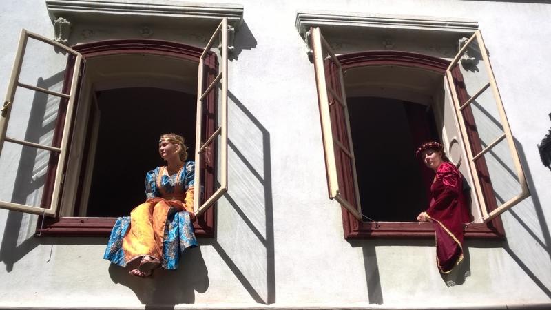 В гостях у сказки - торжества пятилепестковой розы в Чески-Крумлове