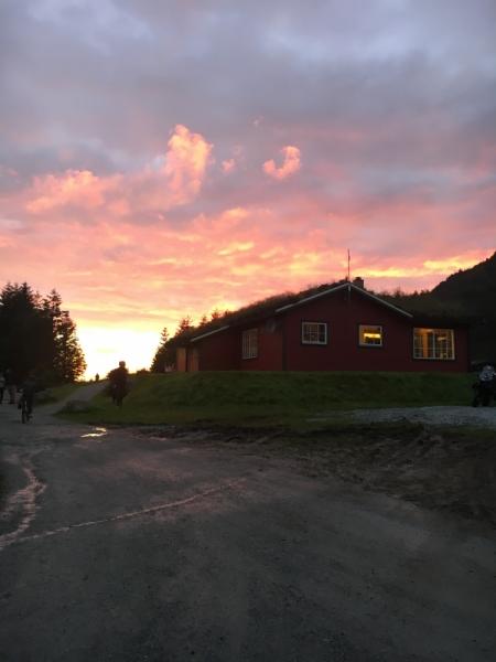 Первый раз в Норвегию