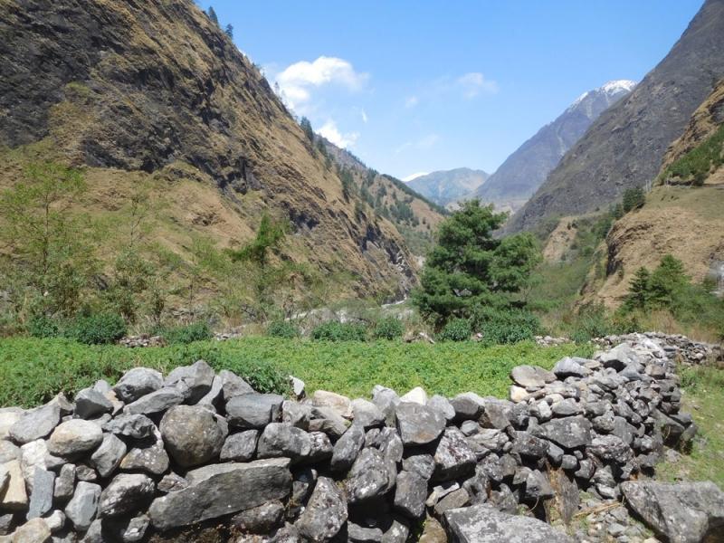 Вверх по Kali, по Gandaki