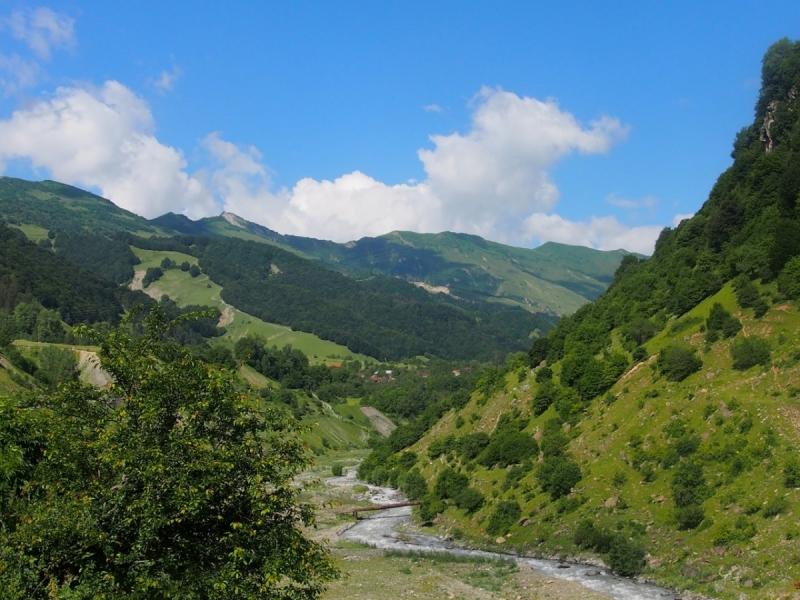 Тбилиси-Степанцминда-Сванетия-Кутаиси-Батуми-Ахалцихе-Тбилиси за 10 дней. июль 2017