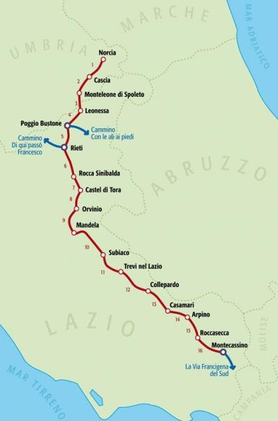 Cammino di San Benedetto или we'll be back