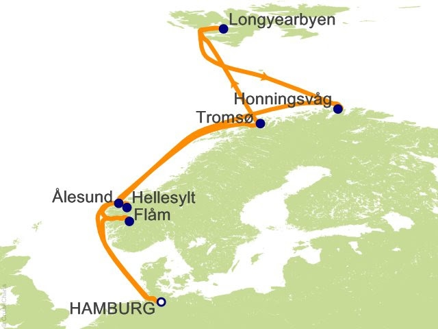 Выбор круиза по фьордам