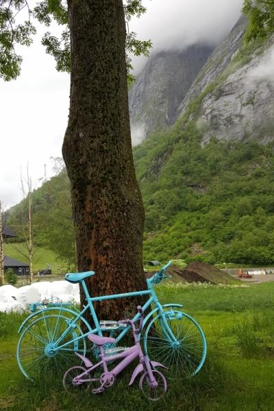 Там на неведомых дорожках...следы людей. Норвегия, регион фьордов, июнь 2017.