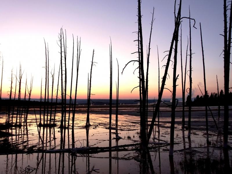 Фотографии рассветов и закатов