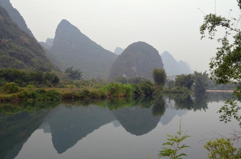 Гуанчжоу - Дачжай - Ченъян - Кайли(Xijiang + Zhenyuan) - Яншо - Гуйлин - Наннин