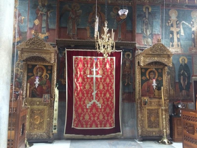 По тропам Святого Афона. Сентябрь 2017.