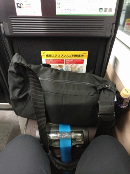 Багаж при переездах по Японии в поездах