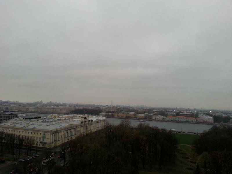 Ностальгическое и юбилейное путешествие в Санкт-Петербург, ноябрь 2017 года
