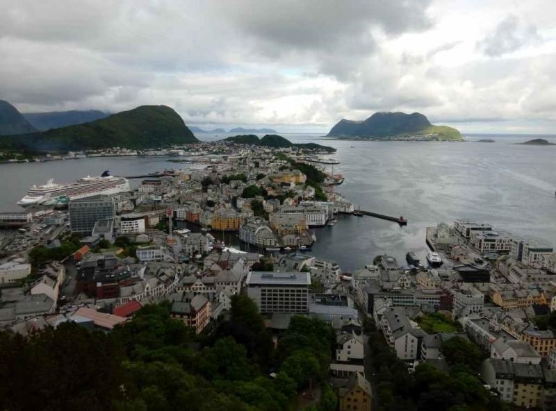 Ах, как давно это было или Норвегия в июле.
